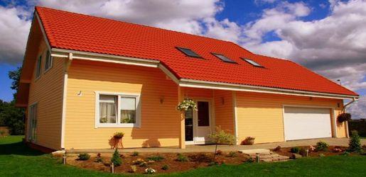 Modelo alemania 190m2 casas de madera en tenerife y mas for Casas canadienses