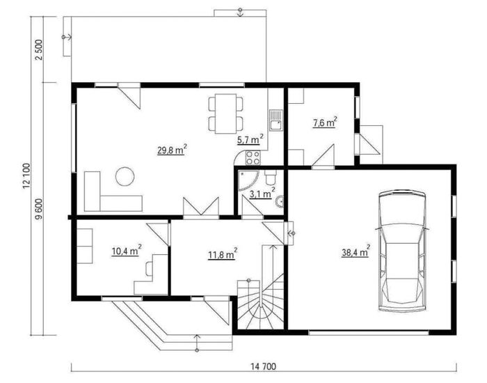 Modelo alemania 190m2 casas de madera en tenerife y mas - Casas de madera canadienses en espana ...