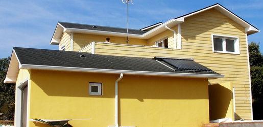 Modelo escorial de 146m2 casas de madera en tenerife y mas - Casas de madera en tenerife precios ...