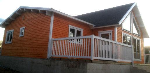 Modelo francia i de 126m2 casas de madera en tenerife y mas - Casas canadienses de madera ...