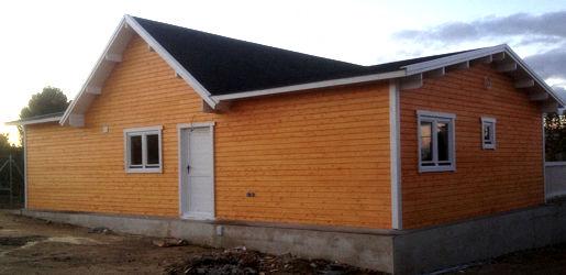 Modelo francia i de 126m2 casas de madera en tenerife y mas - Casas de madera tenerife precios ...