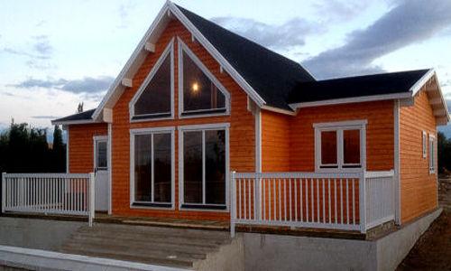 Casas de madera modelo francia i en oferta for Tela asfaltica precio m2