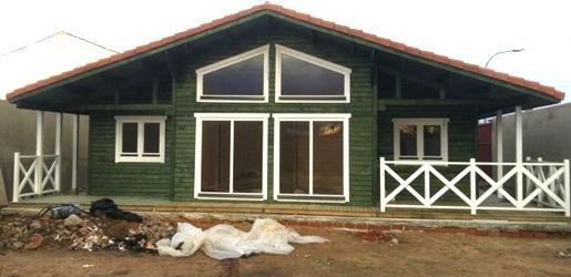 Modelo madrid de 125m2 casas de madera en tenerife y mas - Casas de madera canadienses en espana ...