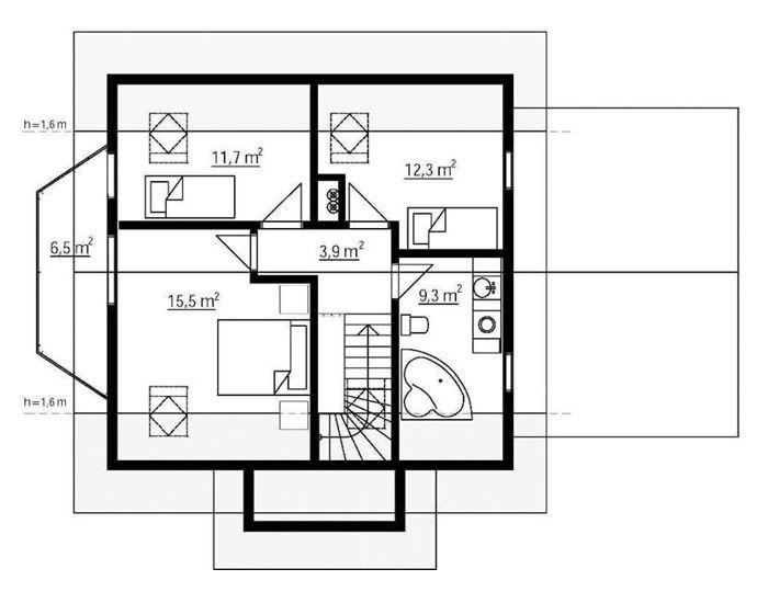 planos de casas noruegas