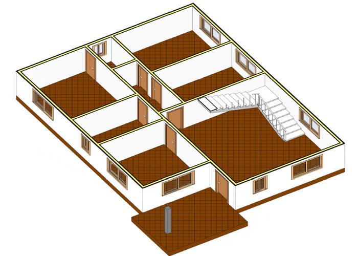 Modelo maria de 104m2 casas de madera en tenerife y mas - Casas de madera tenerife precios ...