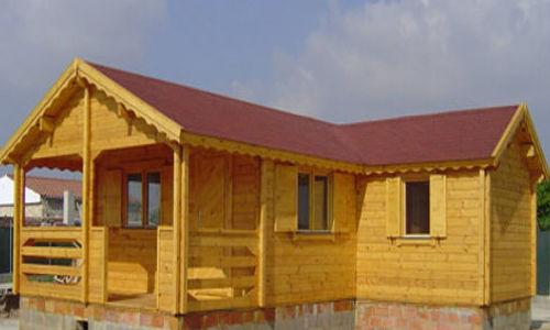 casas de madera de 64 m2