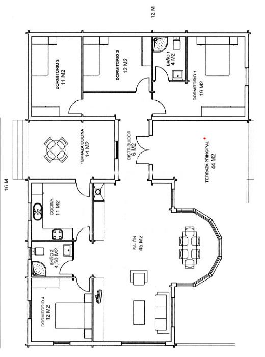 Casas De Madera Modelo América De 136 M2 C Terraza