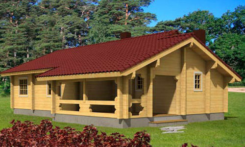 Modelo britta 105 m2 casas de madera en tenerife y mas - Casas de madera tenerife precios ...