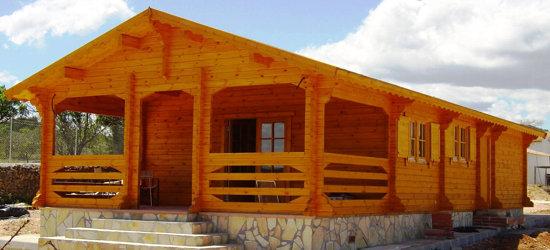 Modelo ciudad rel 75 m2 casas de madera en tenerife y mas - Casas de madera tenerife precios ...
