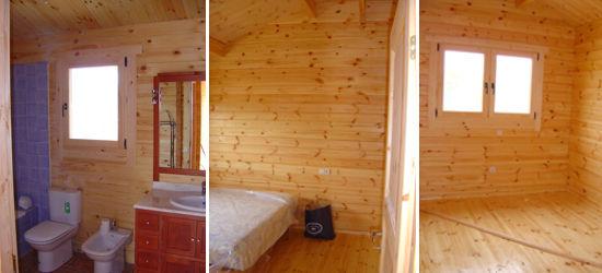 Casas de madera modelo ciudad real de 3 modelos distintos - Interiores de casas prefabricadas ...