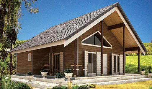 casas de madera de 117m2 + 31 m2 de terraza