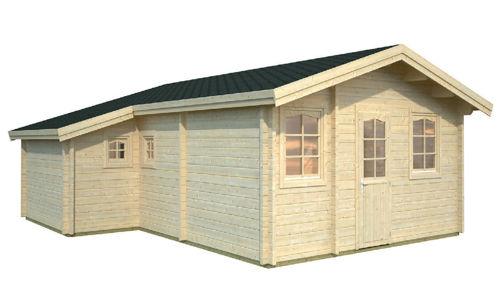 Casas de madera de 39,2 m2