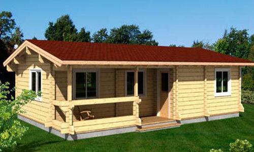 Modelo evelin 71 m2 casas de madera en tenerife y mas - Casas de madera tenerife precios ...