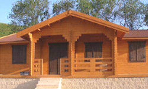 Casas de madera m s de 110 m2 precios econ micos y ofertas - Casas de madera y mas ...