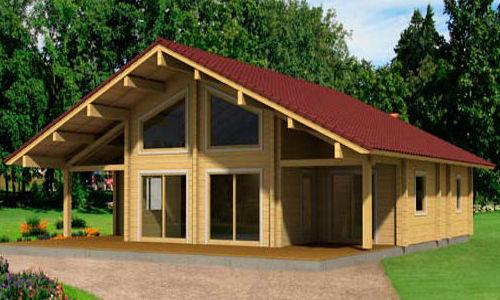 Casas de madera modelo gerda en oferta tattoo design bild for Casas de madera ofertas