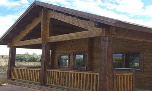 Casas de madera hasta 70 m2 precios econ micos y ofertas - Precio m2 construccion chalet ...