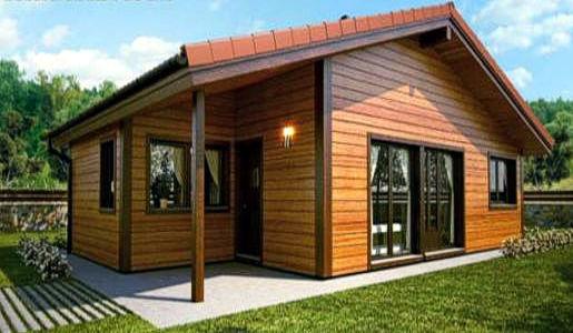 Casas de madera de 70 m2 a 100 m2 precios econ micos y for Oferta casa madera