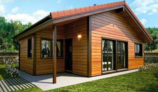 Casas de madera modelo granada de 80 m2 for Casas modernas granada