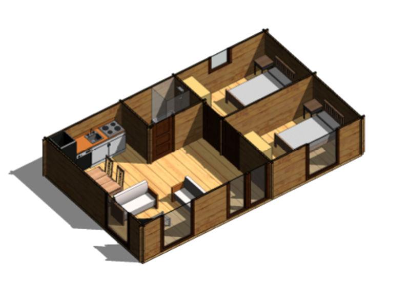 Nuevo proyecto casas de madera fernando moraga moreno - Habitaciones de madera prefabricadas ...