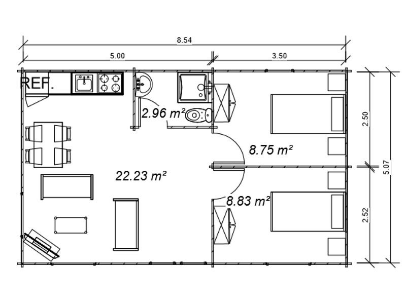 Blog de noticias de casas de madera economicas for Precio instalacion electrica piso 90 metros