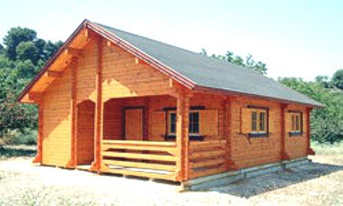 Modelo levante1 de 72 m2 casas de madera en tenerife y mas for Tejado madera maciza