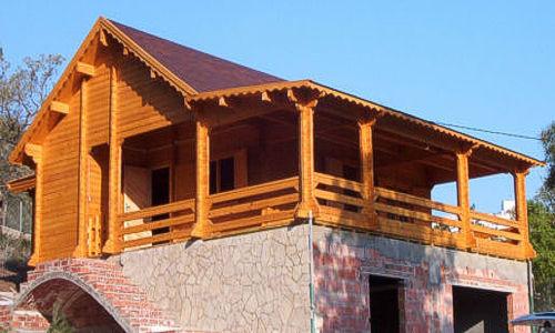 Casas de madera modelo levante big de 110 m2 for Tejados de madera casas