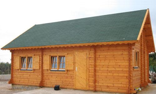 Modelo lindau 72m2 casas de madera en tenerife y mas for Tela asfaltica precio m2