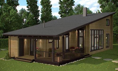 Casas de madera modelo londres de 133m2 20 m2 terraza for Casas de madera para terrazas