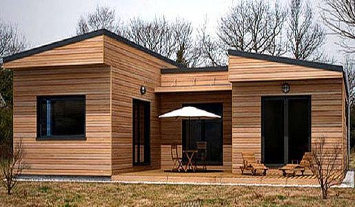 casas de madera de 90 m2