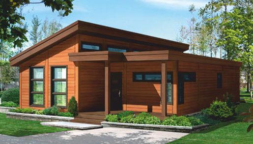 Casas de madera de 70 m2 a 100 m2 precios econ micos y for Casas de madera economicas