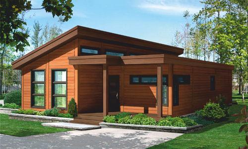 Casas de madera modelo mexico de 80 m2 8 m2 de terraza for Casas de madera para terrazas