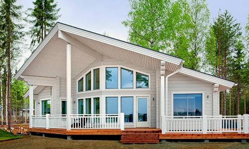 Modelo moderna 100m2 casas de madera en tenerife y mas for Modelos de casas con terrazas modernas