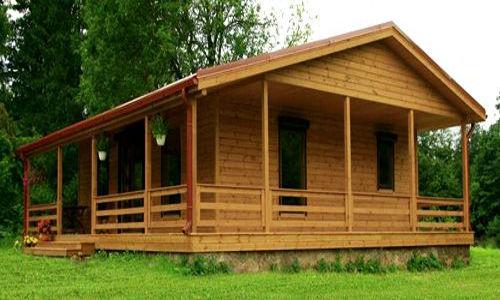 Casas De Madera Modelo Riopas De 72 M2 40 M2 Terraza