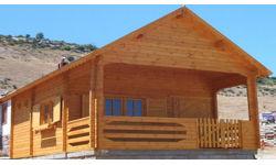 Modelos de 30 a 70 m2 casas de madera en tenerife y mas - Casa madera sevilla ...