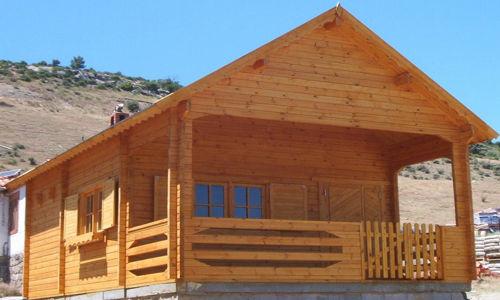 Modelo sevilla 50m2 casas de madera en tenerife y mas - Casas de madera en tenerife precios ...
