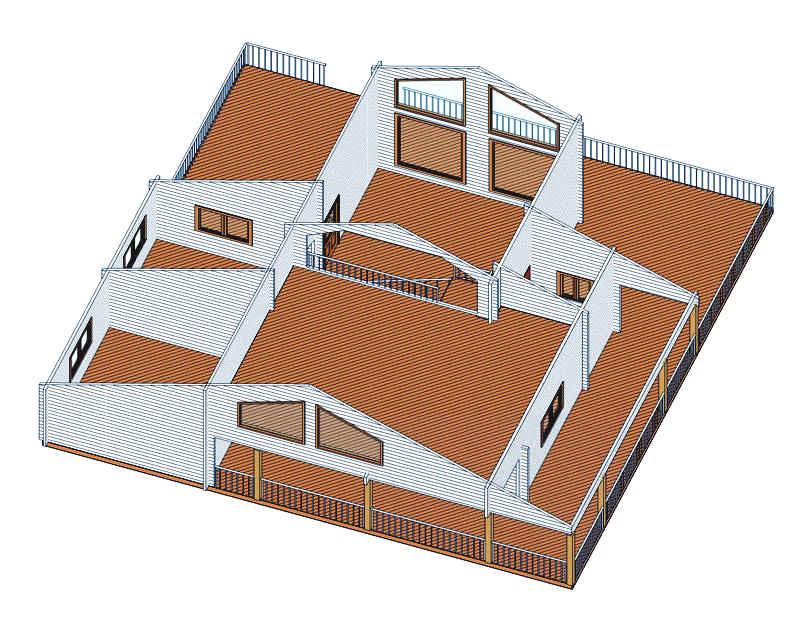 Modelo sofia 126 m2 casas de madera en tenerife y mas - Casas de madera tenerife precios ...