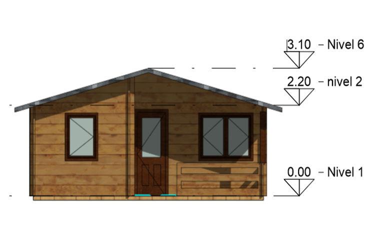Casas De Madera Modelo Sunny De 30 M2