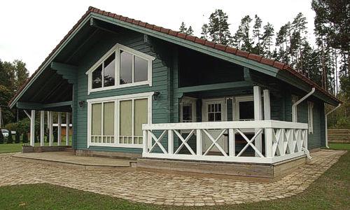 Casas De Madera Modelo Tarragona Ii De 117 M2 31 M2 Terraza