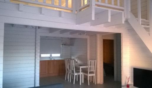 Casas de madera modelo tarragona de 102 m2 c terraza y - Casas con buhardilla ...