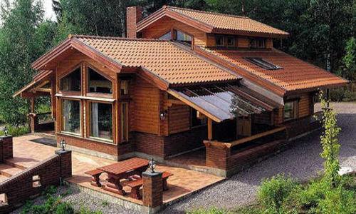 Casas de madera m s de 110 m2 precios econ micos y ofertas - Casas de madera en galicia ofertas ...