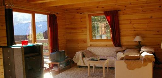 Casas de madera modelo valencia de 95 m2 46 m2 terraza for Casas de madera valencia