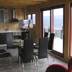 Casas de madera modelo valencia de 95 m2 46 m2 terraza - Casas de madera valencia precios ...