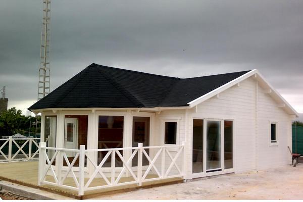 Modelo vitoria 68 m2 casas de madera en tenerife y mas - Casas de madera en tenerife precios ...