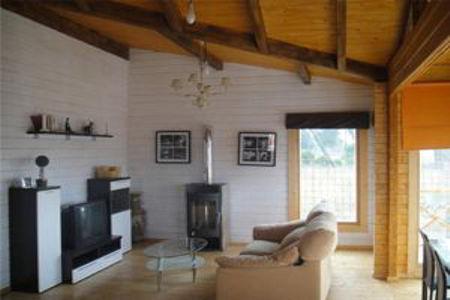 Casas de madera modelo zaragoza de 106 m2 60 m2 terraza - Casas de madera zaragoza ...