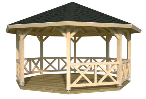 Casas de madera modelo bessie de 4 65 for Casetas de jardin economicas