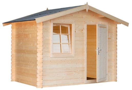 Casas de madera modelo brest de 2 97 x 2 00 for Casetas de jardin metalicas baratas