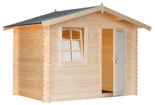 Casas de madera modelo brest de 2 97 x 2 00 for Casetas madera para jardin baratas