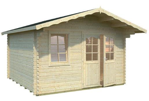 Casas de madera modelo daisy de 4 10 x 4 10 for Casetas de jardin economicas