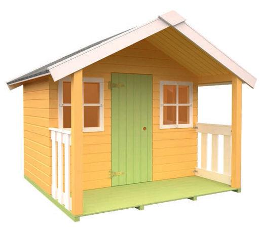 Casas de madera modelo felix de 1 80 x 1 12 1 80 for Casetas desmontables precios