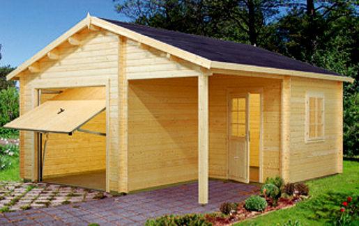 Casetas de madera modelo garaje 4 en oferta for Oferta caseta jardin